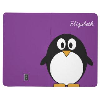 Cute and Modern Cartoon Penguin Journals