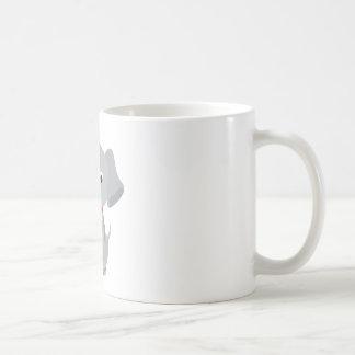 Cute and Playful Puppy or Dog Basic White Mug