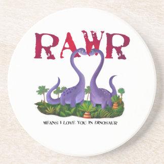 Cute and Romantic Dinos - Rawr Coaster