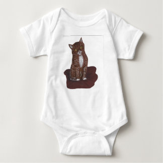 Cute and scary Kitten Baby Bodysuit
