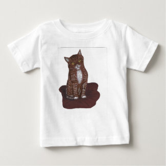 Cute and scary Kitten Baby T-Shirt