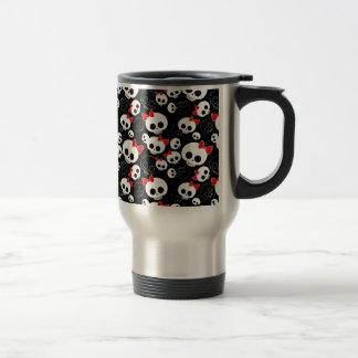 Cute and Scary Skulls Coffee Mug