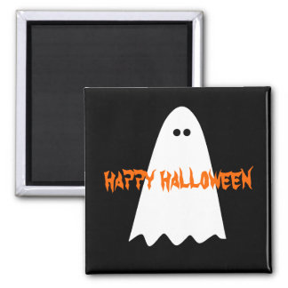 Cute and simple Halloween ghost Magnets