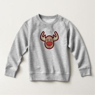 Cute and Simple Rudolf Reindeer | Sweatshirt