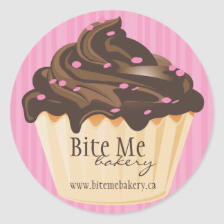Cute and Whimsical Bakery Stickers
