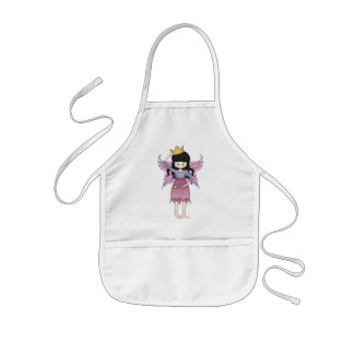 Cute and Whimsical Little Fairy Princess Girl Kids Apron