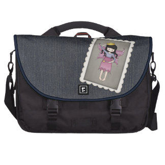 Cute and Whimsical Little Fairy Princess Girl Commuter Bags