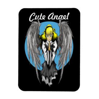 "Cute Angel 3""x4"" Photo Magnet"