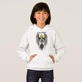 Cute Angel Girls' Hanes ComfortBlend® Hoodie