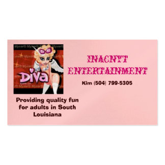 cute angel, Inacnyt Entertainment, Providing qu... Pack Of Standard Business Cards