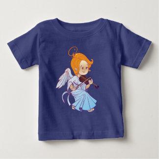 Cute angel playing violin baby T-Shirt