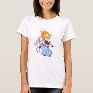 Cute angel playing violin T-Shirt