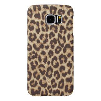 Cute Animal Fur Leopard Print Samsung Galaxy S6 Cases