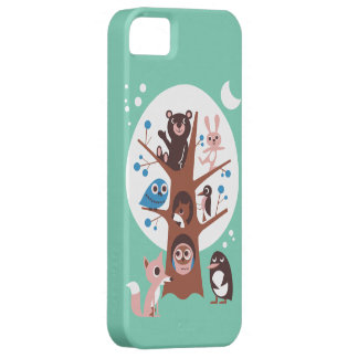 Cute Animal in Tree iPhone 5 Cover