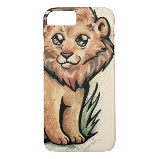 Cute Animal:  Lion iPhone 8/7 Case