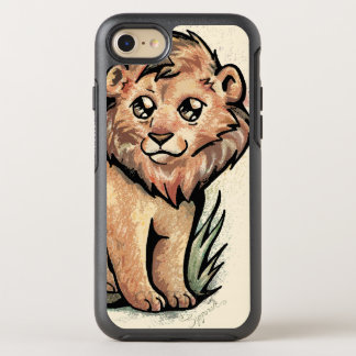 Cute Animal:  Lion OtterBox Symmetry iPhone 8/7 Case