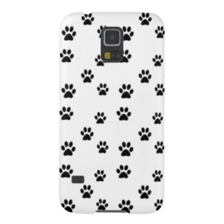 Cute animal paw prints design case for galaxy s5
