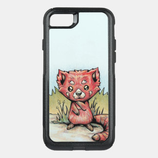 Cute Animal:  Red Panda OtterBox Commuter iPhone 8/7 Case
