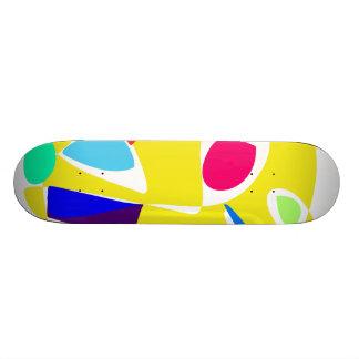 Cute Animal Yellow Skateboard Deck