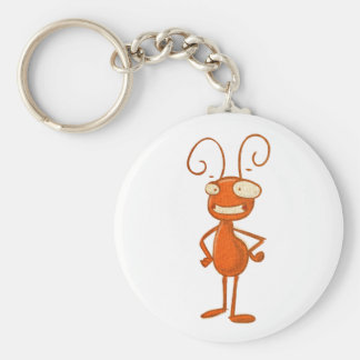 cute animals - ant key ring