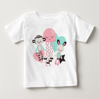 Cute animals baby Design Baby T-Shirt