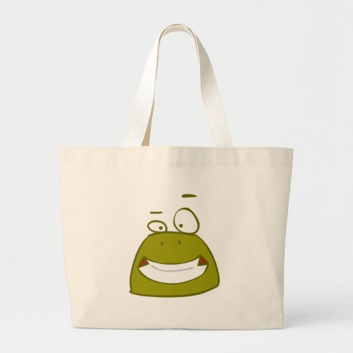 cute animals - frog tote bag