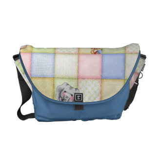 cute animals messenger bags