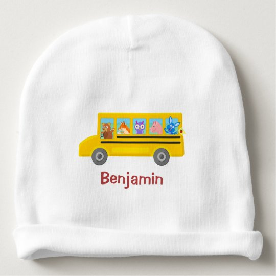 Cute Animals on the School Bus | Personalised