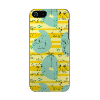 Cute animals playing with water 2 incipio feather® shine iPhone 5 case
