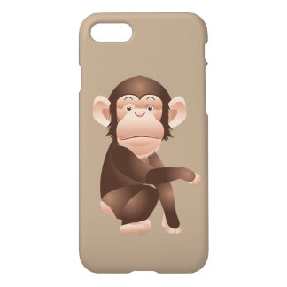 Cute animated monkey iPhone 7 case