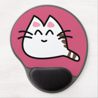 Cute Anime Cat Gel Mouse Mat