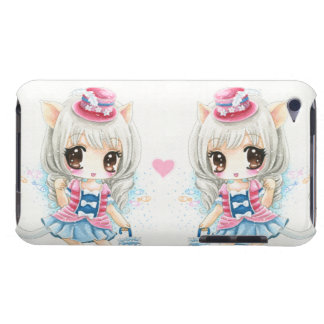 Cute anime cat girls iPod touch cover