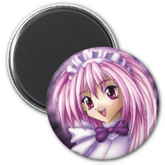 Cute Anime Girl Maid Refrigerator Magnet