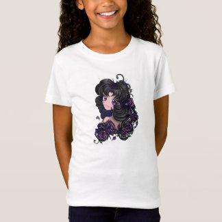 Cute anime manga girl eyes! Girls Kids T T-Shirt