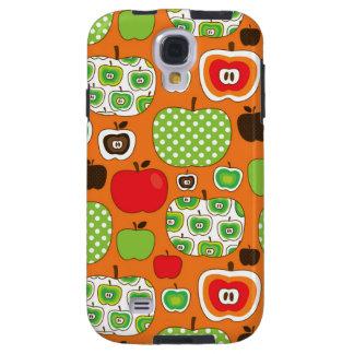 Cute apple illustration pattern galaxy s4 case