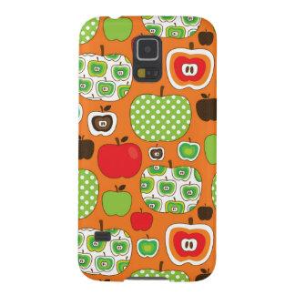 Cute apple illustration pattern galaxy s5 cases