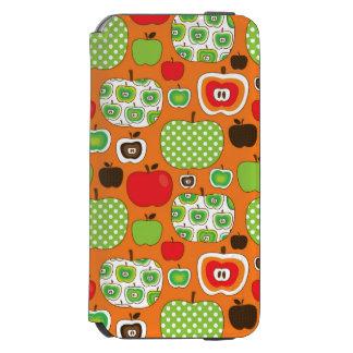 Cute apple illustration pattern incipio watson™ iPhone 6 wallet case