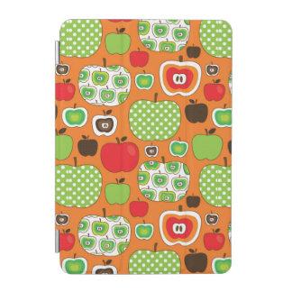 Cute apple illustration pattern iPad mini cover