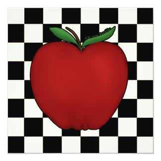Cute Apple Invitations