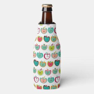 Cute apple pattern bottle cooler