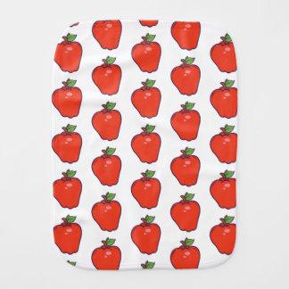 Cute Apple Pattern Burp Cloth
