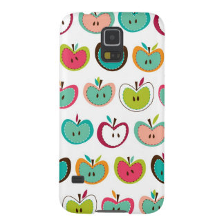 Cute apple pattern cases for galaxy s5
