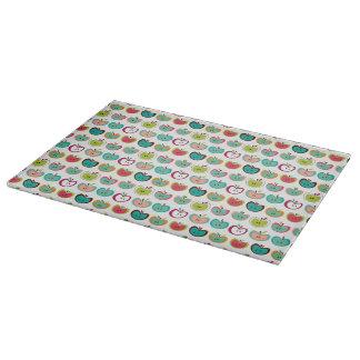Cute apple pattern cutting board
