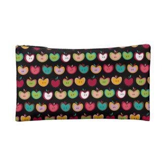 Cute Apple Pattern Makeup Bags
