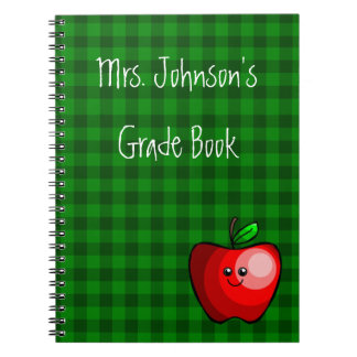 Cute Apple (Red) Notebook