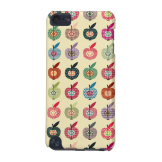 Cute Apples in Retro Style iPod Touch (5th Generation) Case