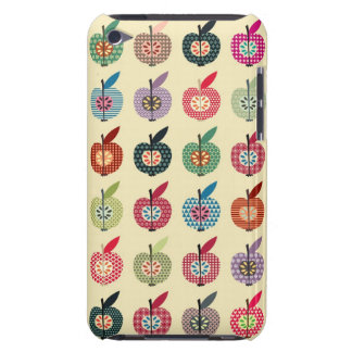 Cute Apples in Retro Style iPod Touch Cases