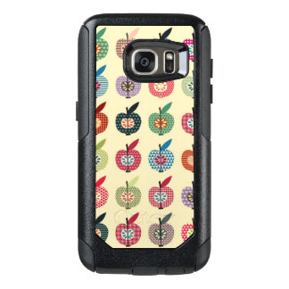 Cute Apples in Retro Style OtterBox Samsung Galaxy S7 Case
