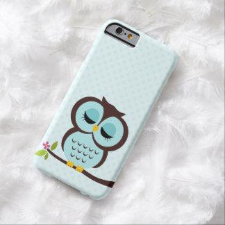 Cute Aqua Owl Case for the iPhone 4