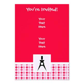 Cute Architect 13 Cm X 18 Cm Invitation Card
